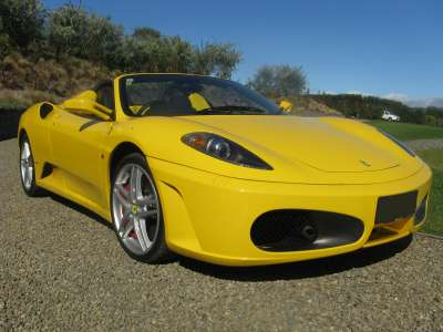 Hot Yellow Ferrari